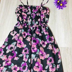 Lauren Conrad floral print maxi dress 💕